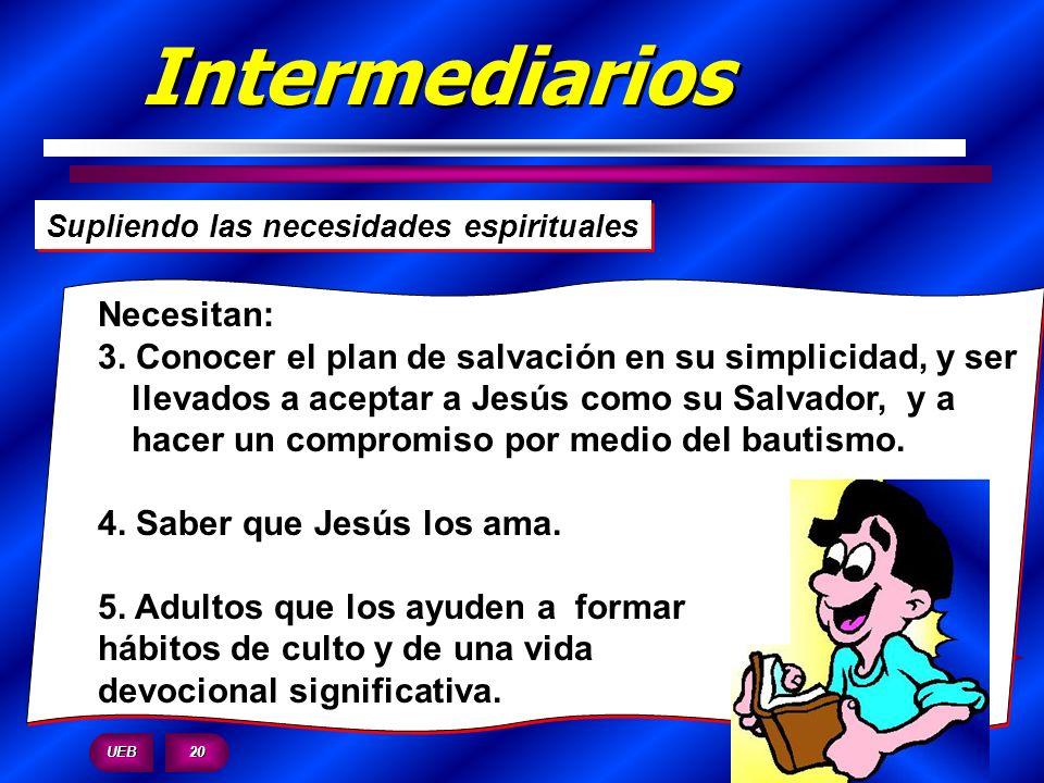 Intermediarios Necesitan: