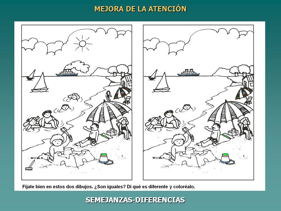MEJORA DE LA ATENCIÓN SEMEJANZAS-DIFERENCIAS