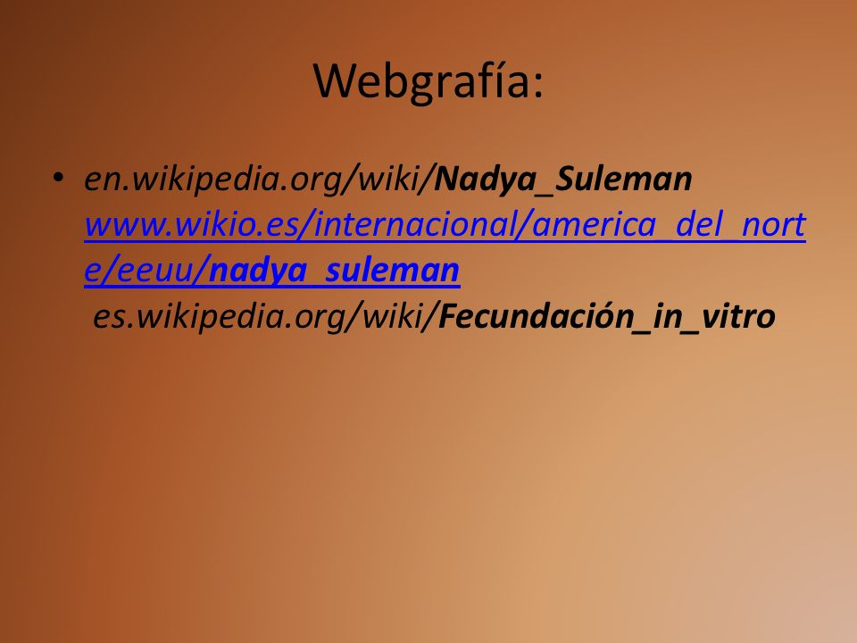Webgrafía: