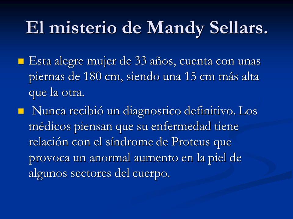 El misterio de Mandy Sellars.