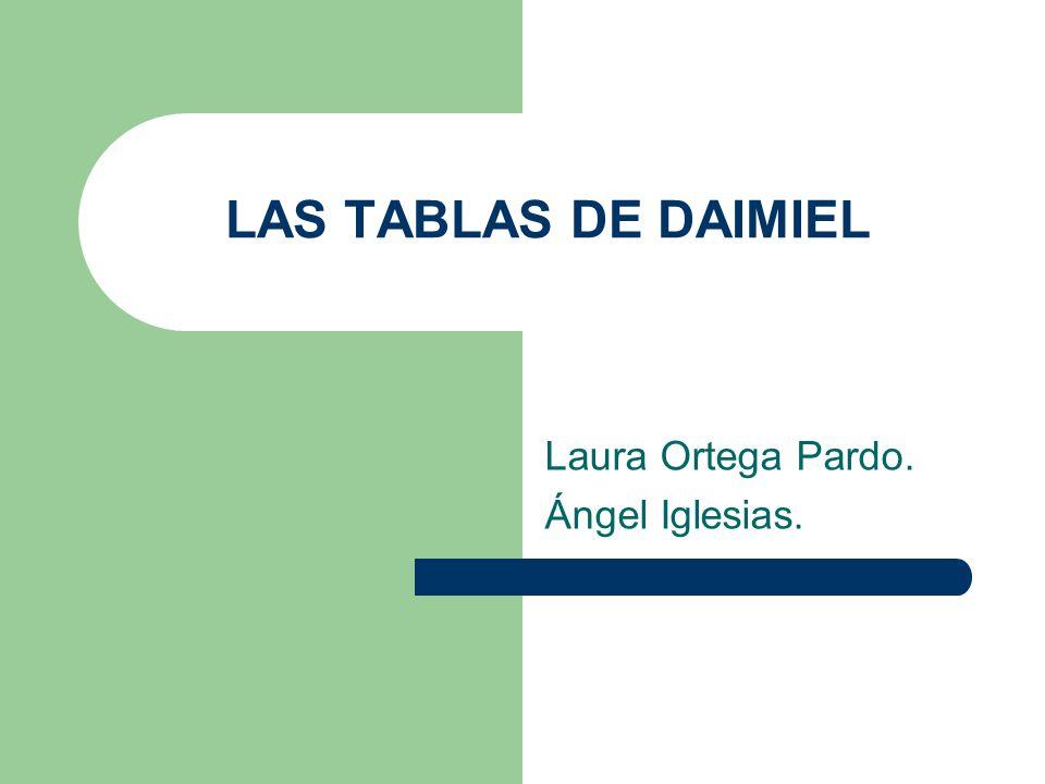 Laura Ortega Pardo. Ángel Iglesias.