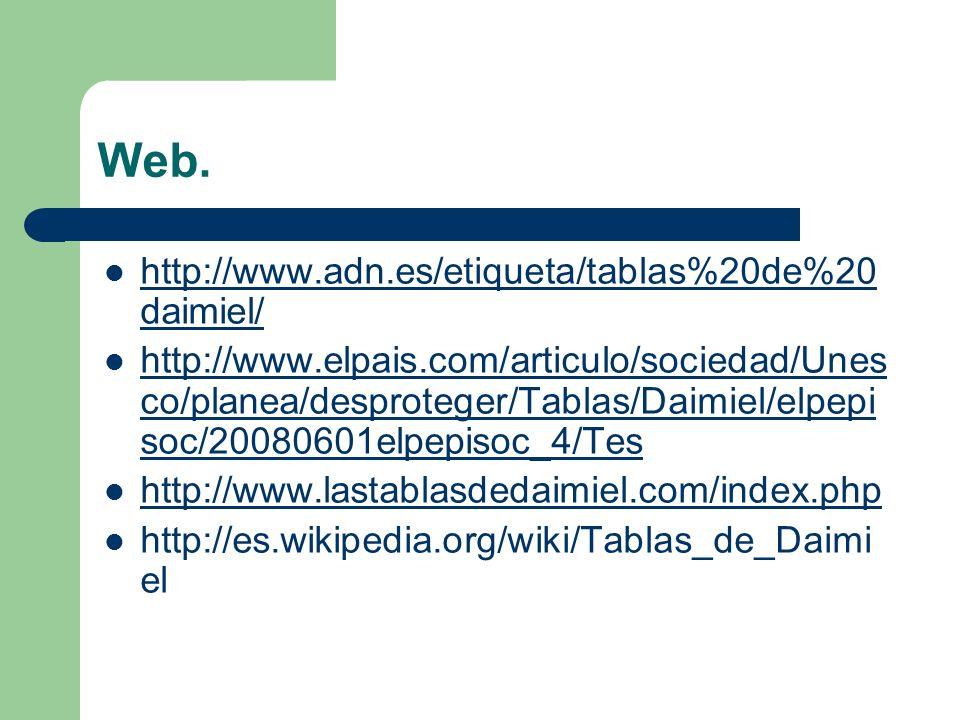 Web. http://www.adn.es/etiqueta/tablas%20de%20daimiel/