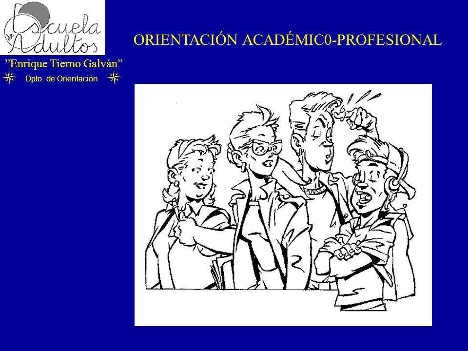 ORIENTACIÓN ACADÉMIC0-PROFESIONAL