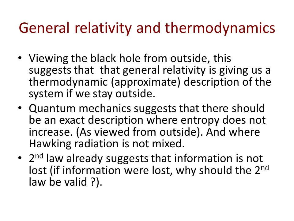 black holes general relativity quantum mechanics - photo #34