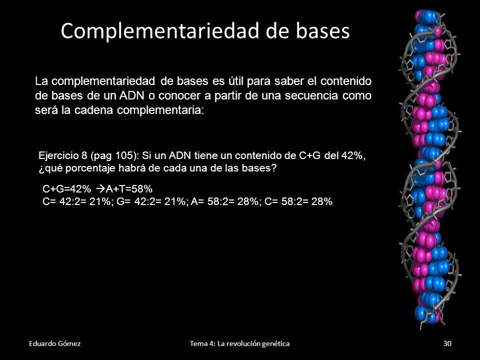 Complementariedad de bases