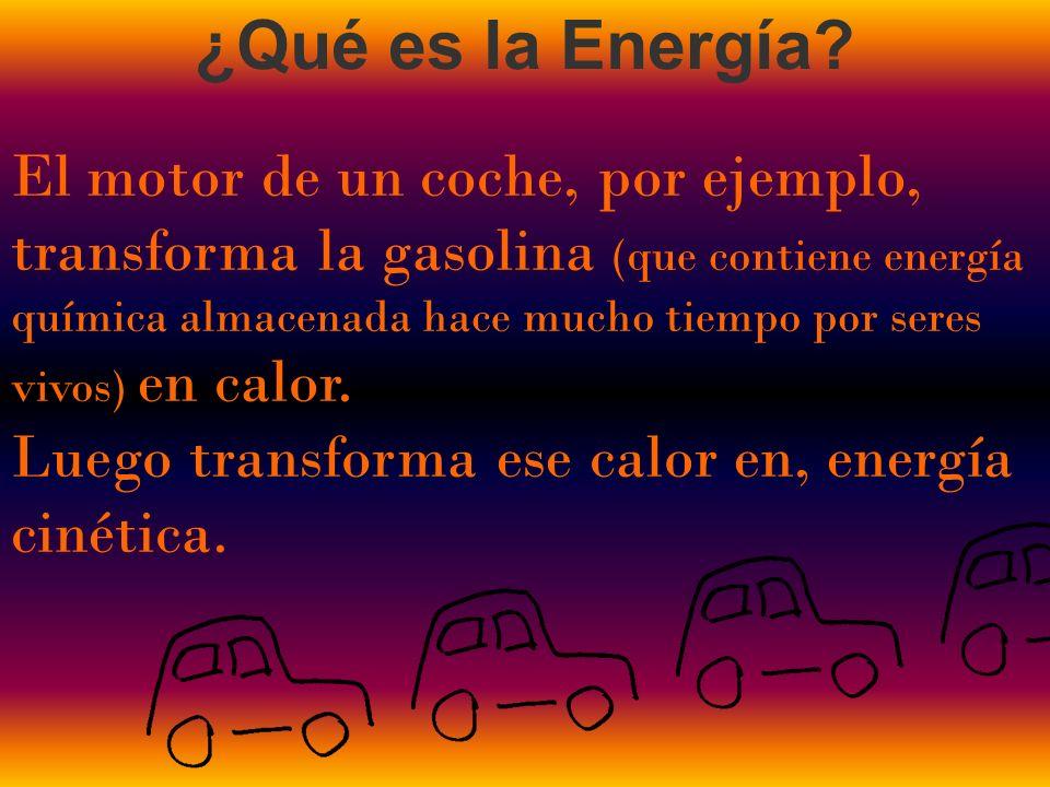 ¿Qué es la Energía