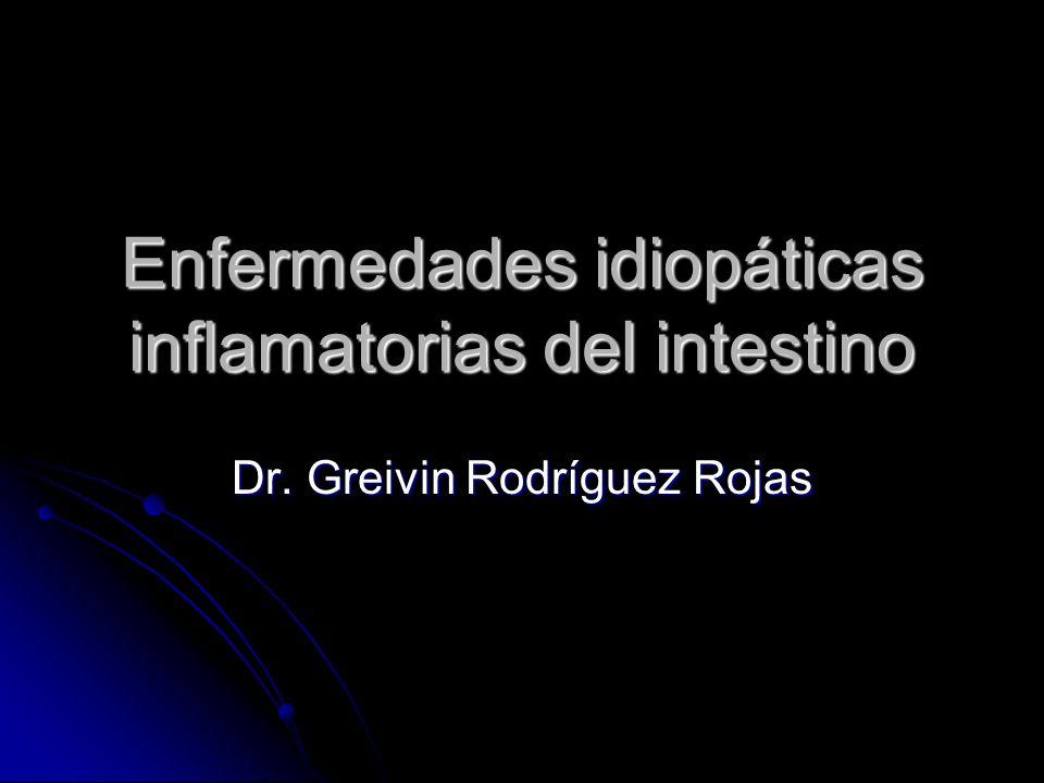Enfermedades idiopáticas inflamatorias del intestino