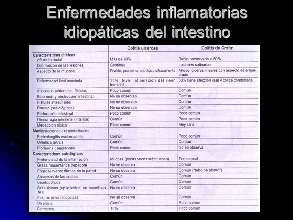 Enfermedades inflamatorias idiopáticas del intestino