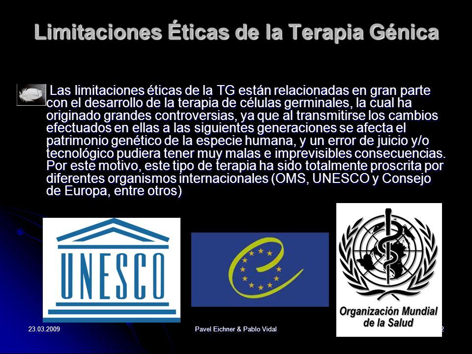 Limitaciones Éticas de la Terapia Génica