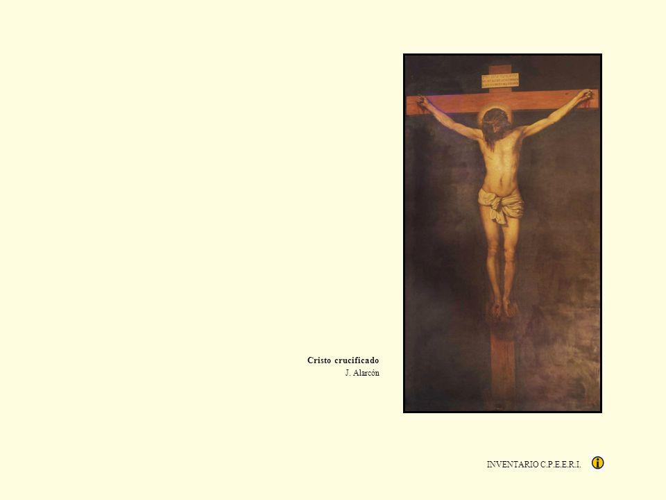Cristo crucificado J. Alarcón INVENTARIO C.P.E.E.R.I.