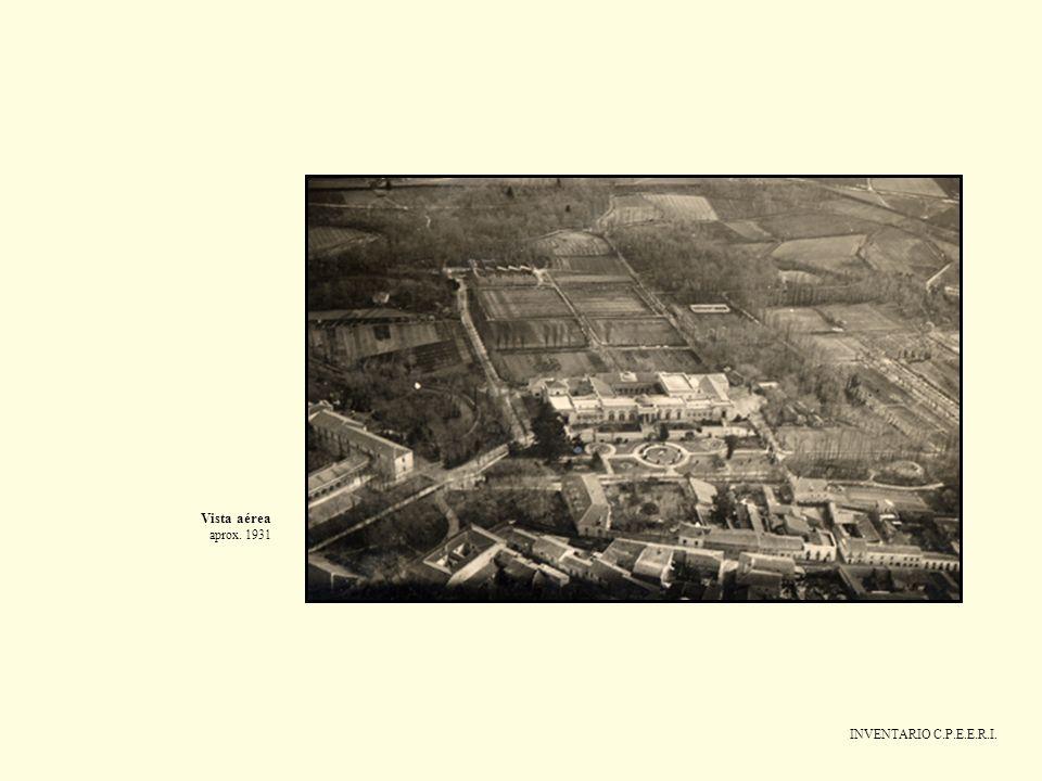 Vista aérea aprox. 1931 INVENTARIO C.P.E.E.R.I.