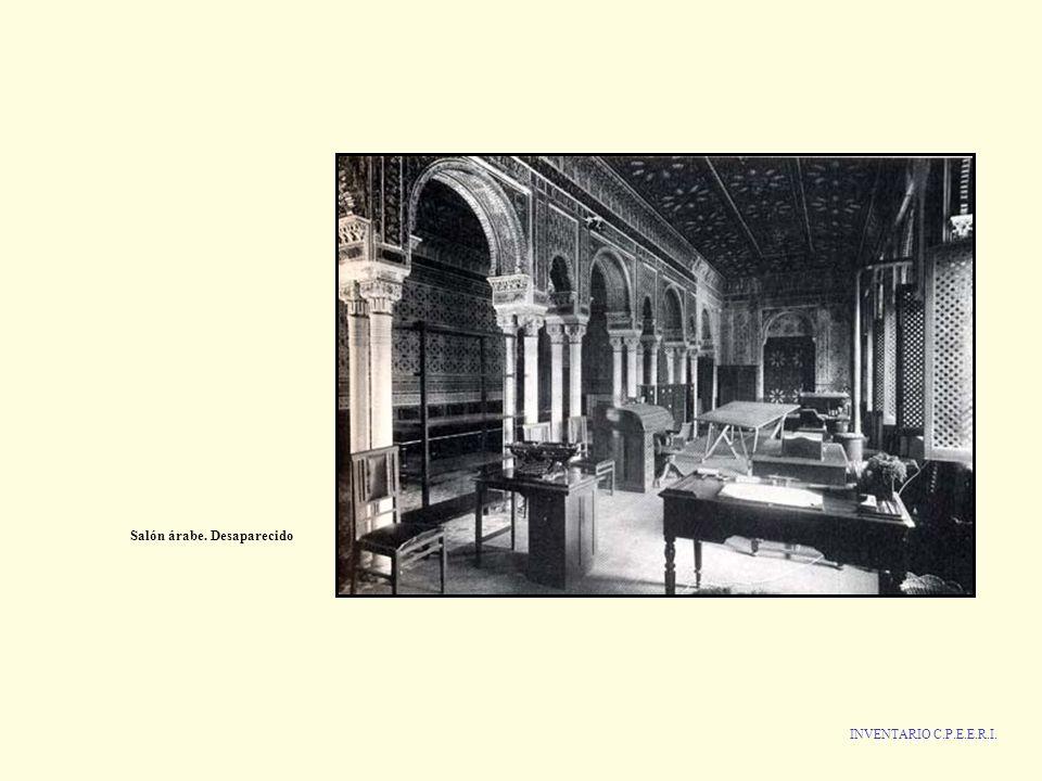 Salón árabe. Desaparecido