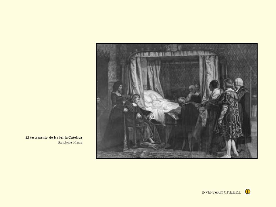 El testamento de Isabel la Católica