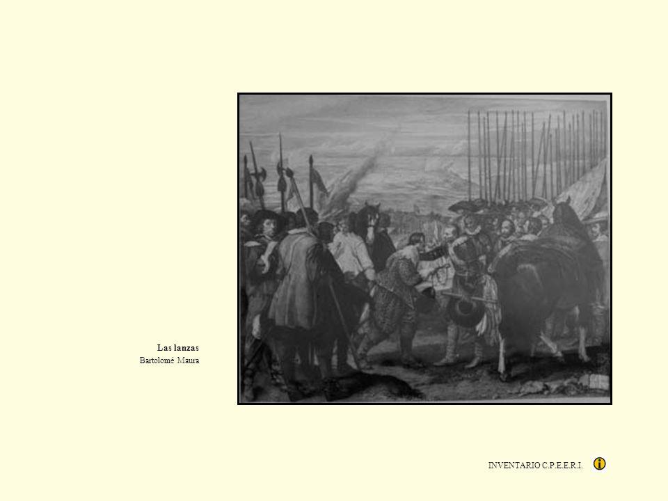 Las lanzas Bartolomé Maura INVENTARIO C.P.E.E.R.I.