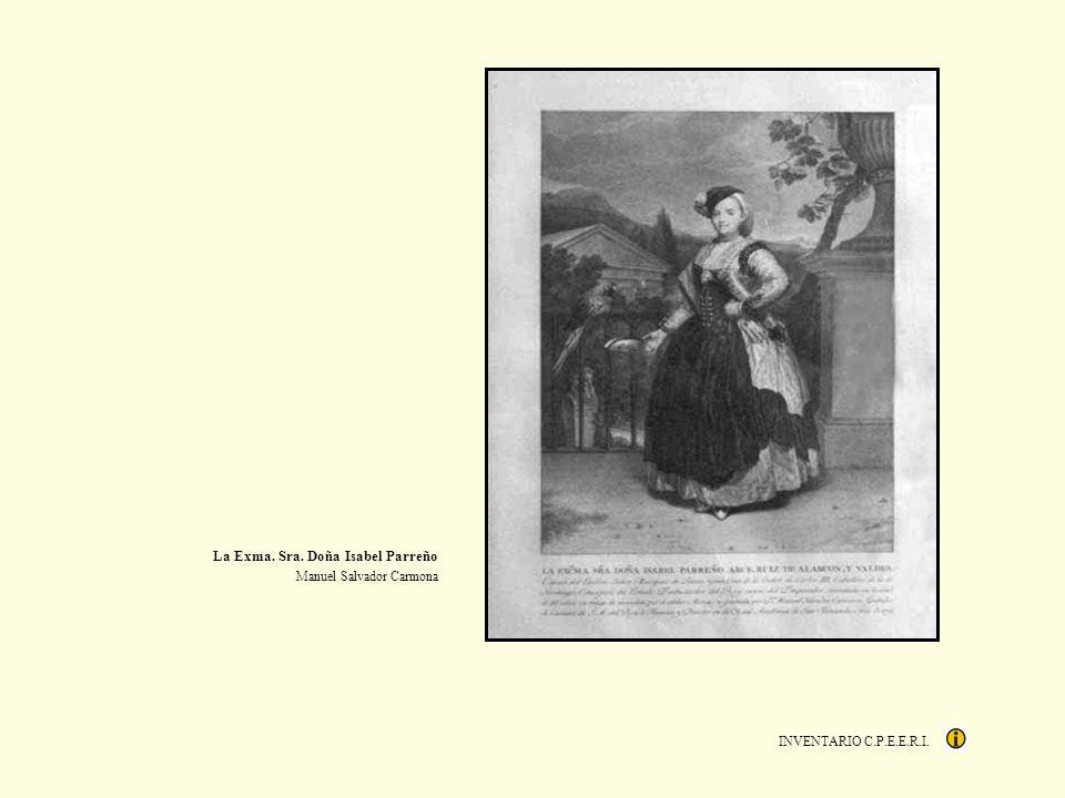 La Exma. Sra. Doña Isabel Parreño