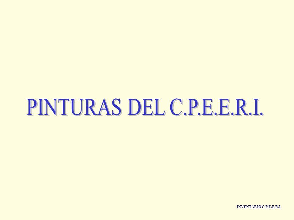 PINTURAS DEL C.P.E.E.R.I. INVENTARIO C.P.E.E.R.I.