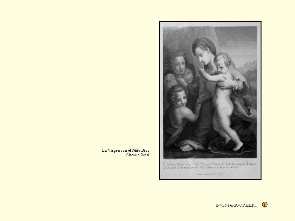 La Virgen con el Niño Dios