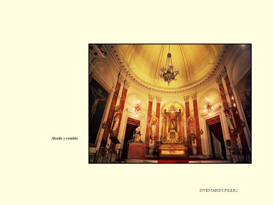 Ábside y retablo INVENTARIO C.P.E.E.R.I.