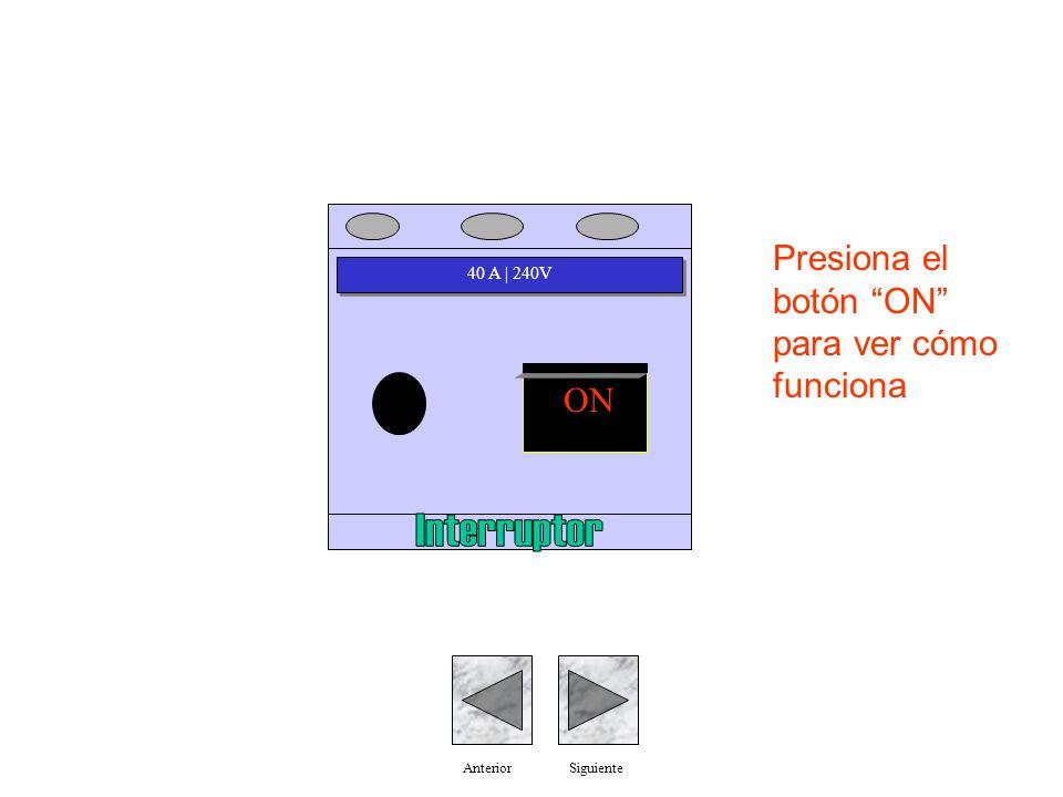 Interruptor Presiona el botón ON para ver cómo funciona ON