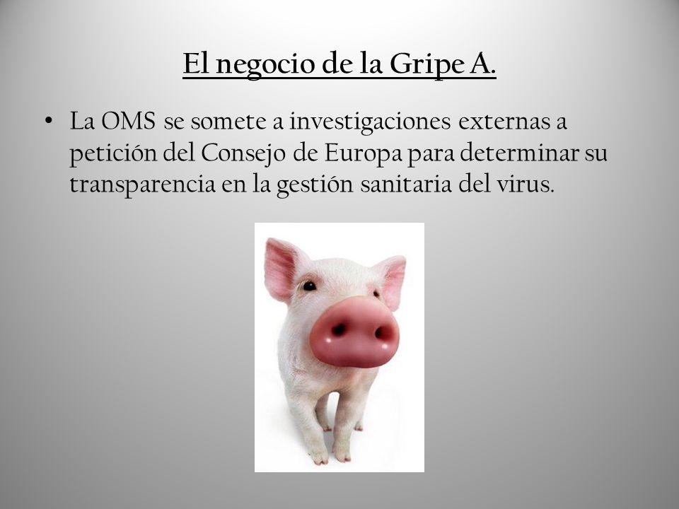El negocio de la Gripe A.