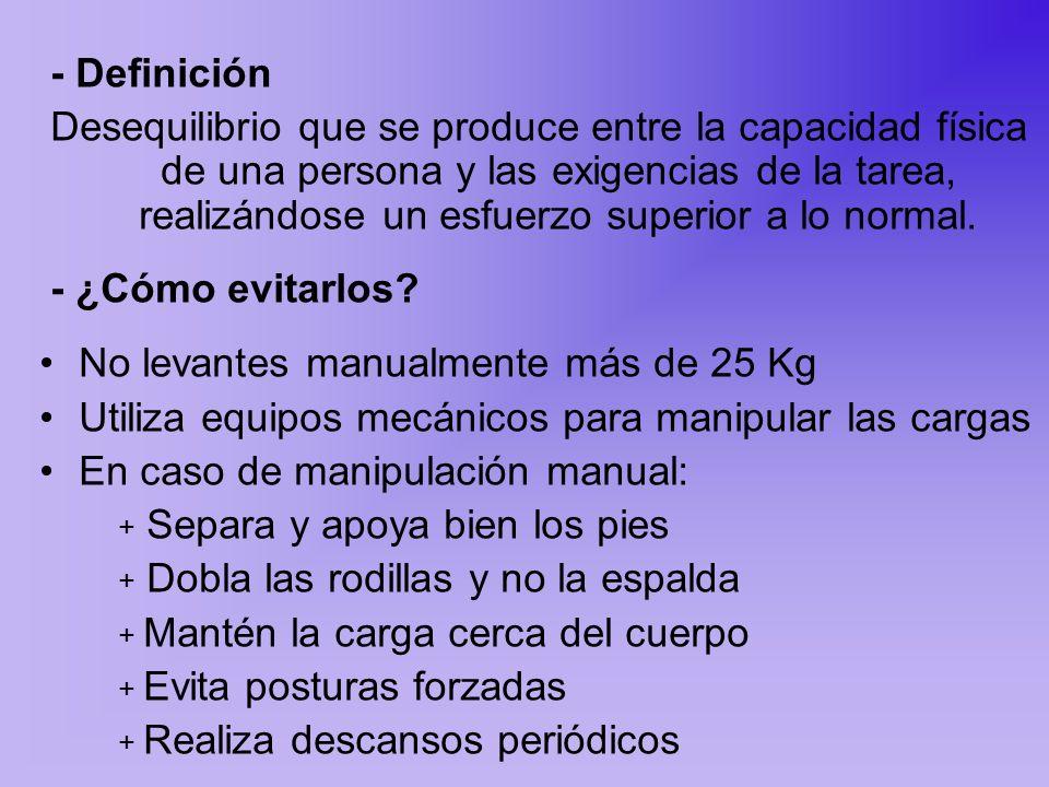 - Definición