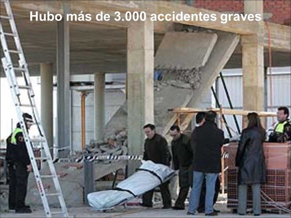 Hubo más de 3.000 accidentes graves