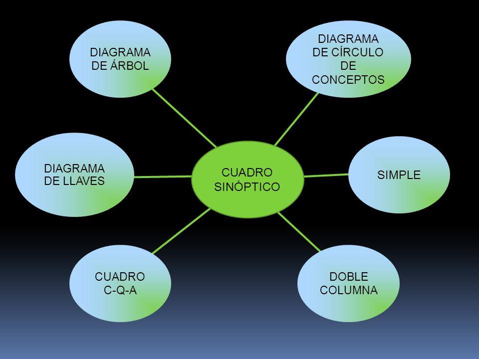 DIAGRAMA DE CÍRCULO DE CONCEPTOS