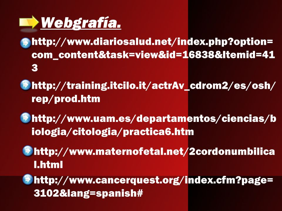 Webgrafía. http://www.diariosalud.net/index.php option=com_content&task=view&id=16838&Itemid=413.
