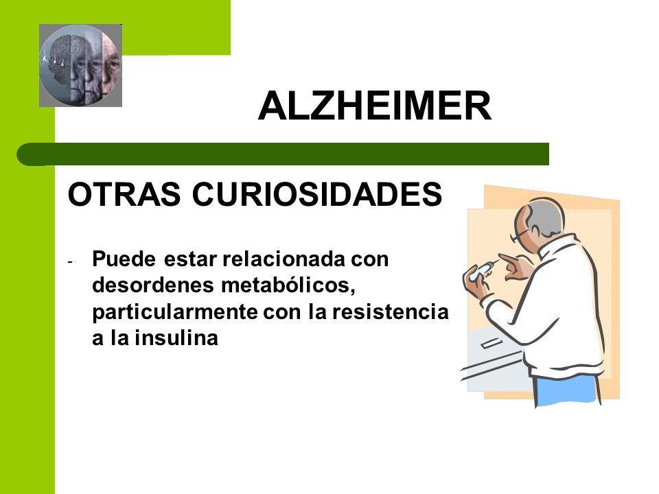 ALZHEIMER OTRAS CURIOSIDADES