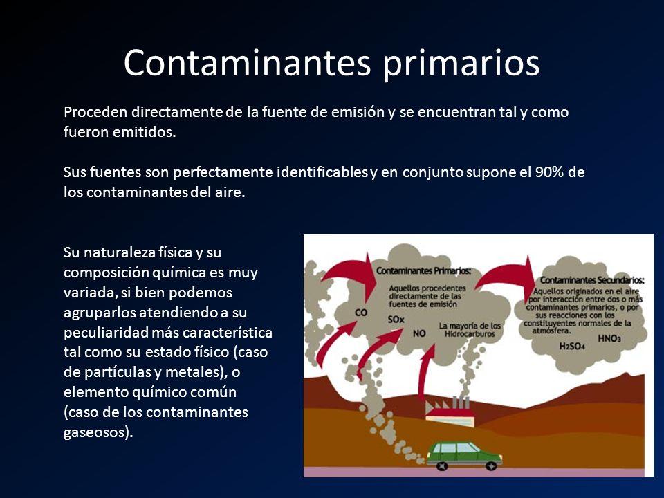 Contaminantes primarios