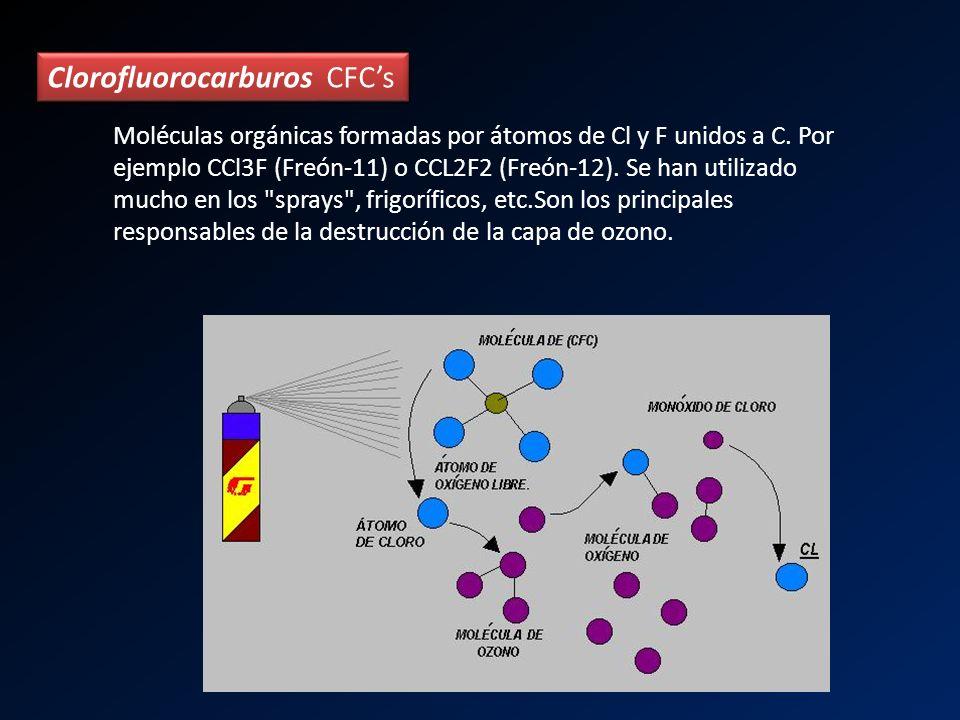 Clorofluorocarburos CFC's