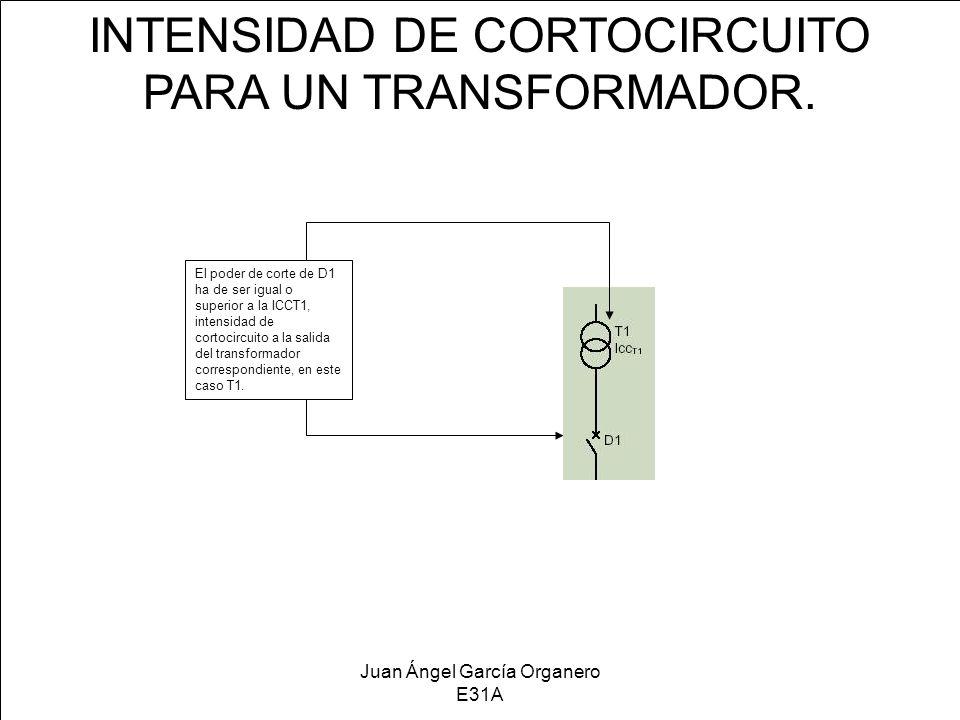 INTENSIDAD DE CORTOCIRCUITO PARA UN TRANSFORMADOR.