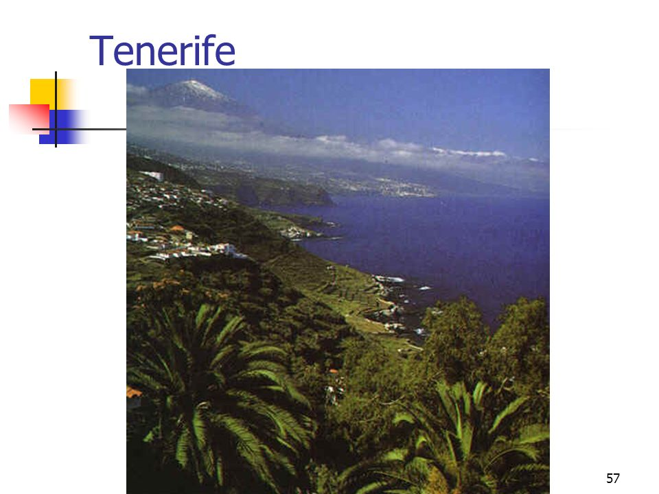 Tenerife climas peninsulares