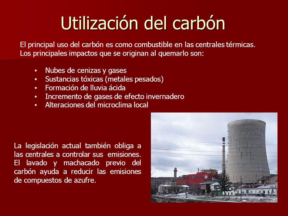 Utilización del carbón