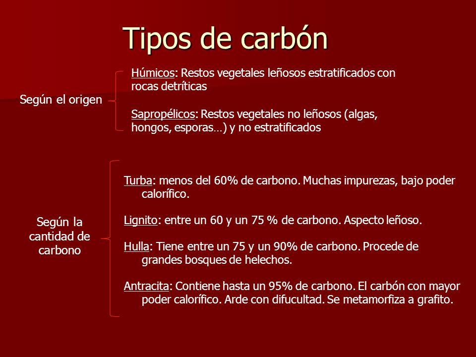 Según la cantidad de carbono