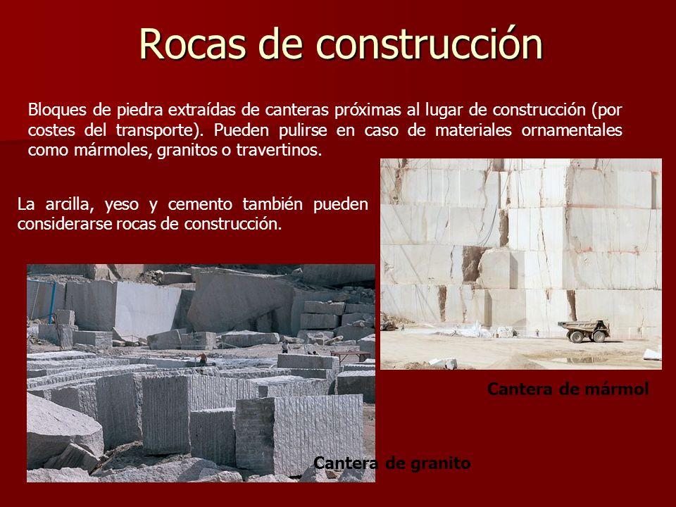 Rocas de construcción