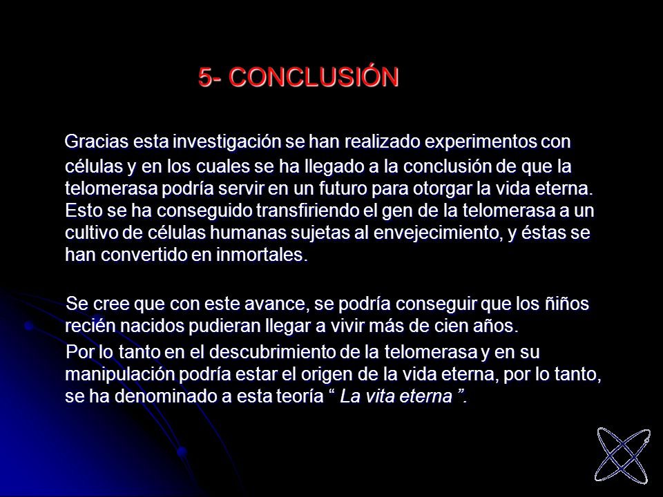 5- CONCLUSIÓN