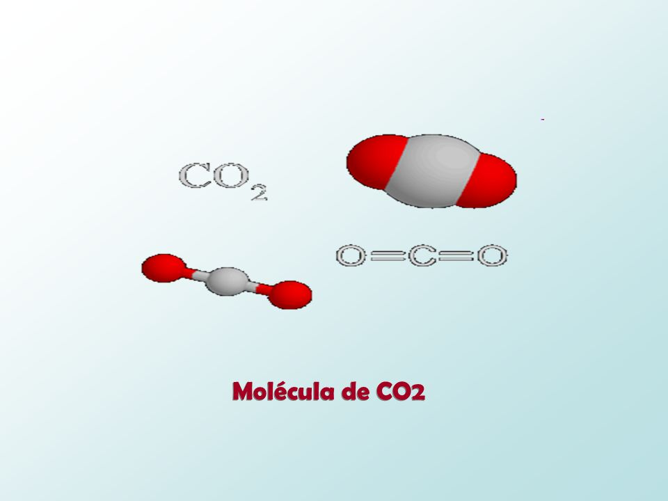 Molécula de CO2
