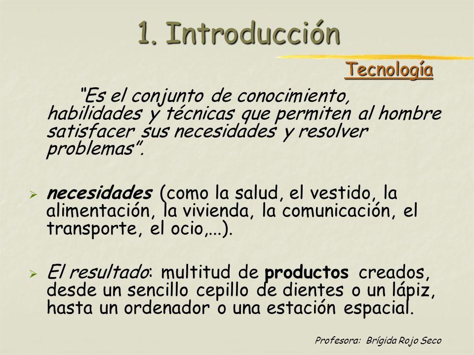 1. Introducción Tecnología