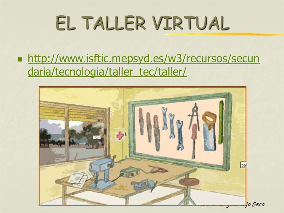 EL TALLER VIRTUAL http://www.isftic.mepsyd.es/w3/recursos/secundaria/tecnologia/taller_tec/taller/