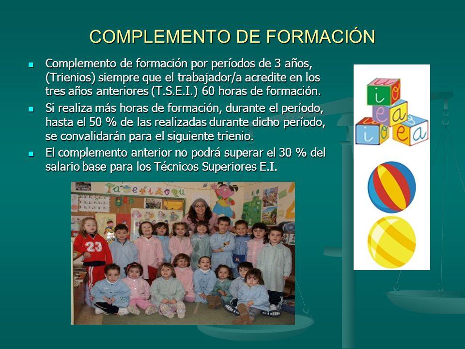COMPLEMENTO DE FORMACIÓN