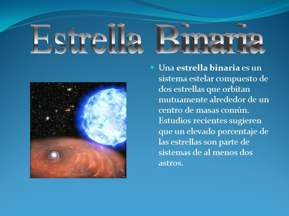 Estrella Binaria