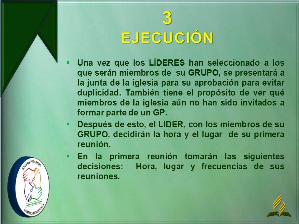 3 EJECUCIÓN