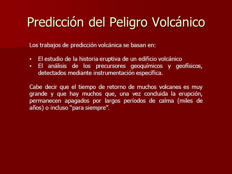 Predicción del Peligro Volcánico