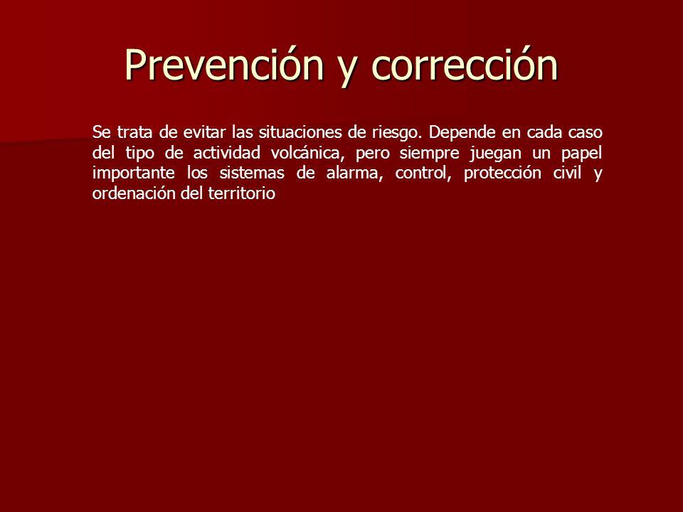 Prevención y corrección