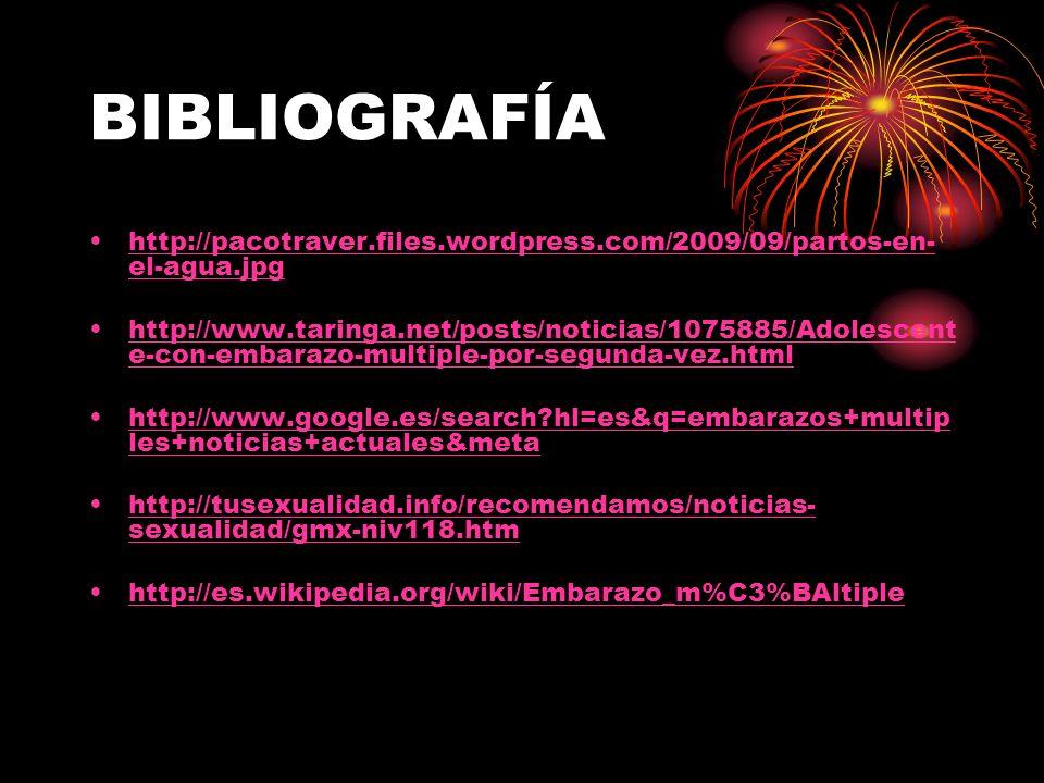 BIBLIOGRAFÍA http://pacotraver.files.wordpress.com/2009/09/partos-en-el-agua.jpg.