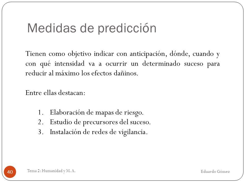Medidas de predicción