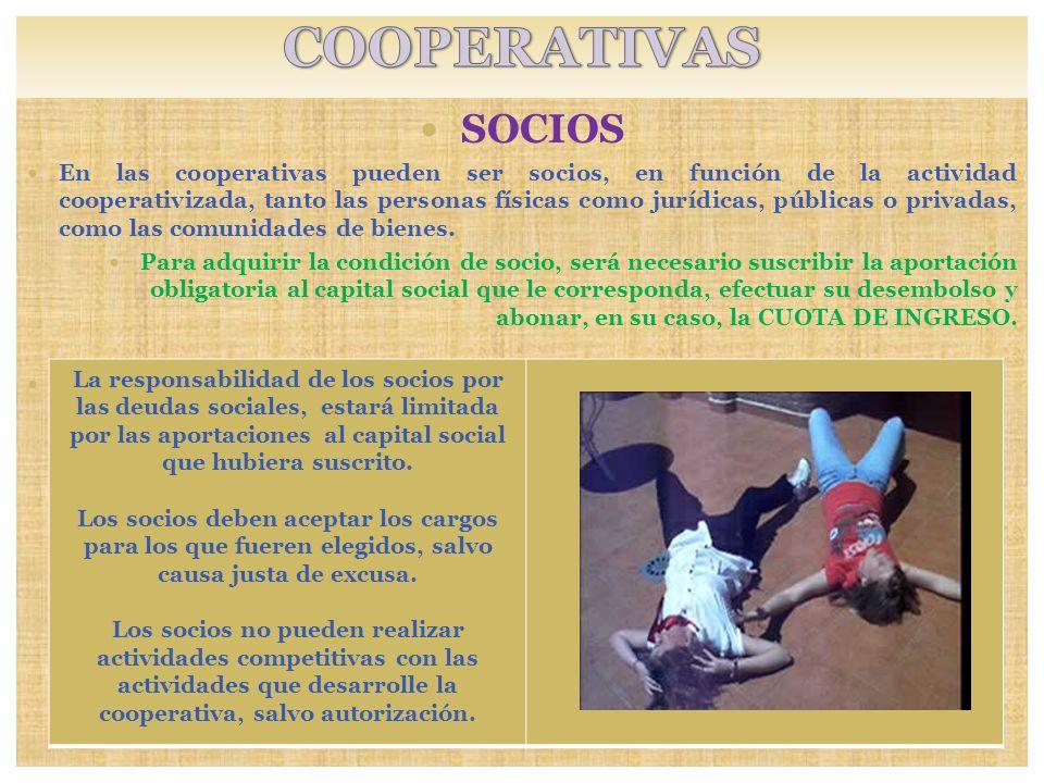 COOPERATIVAS SOCIOS.