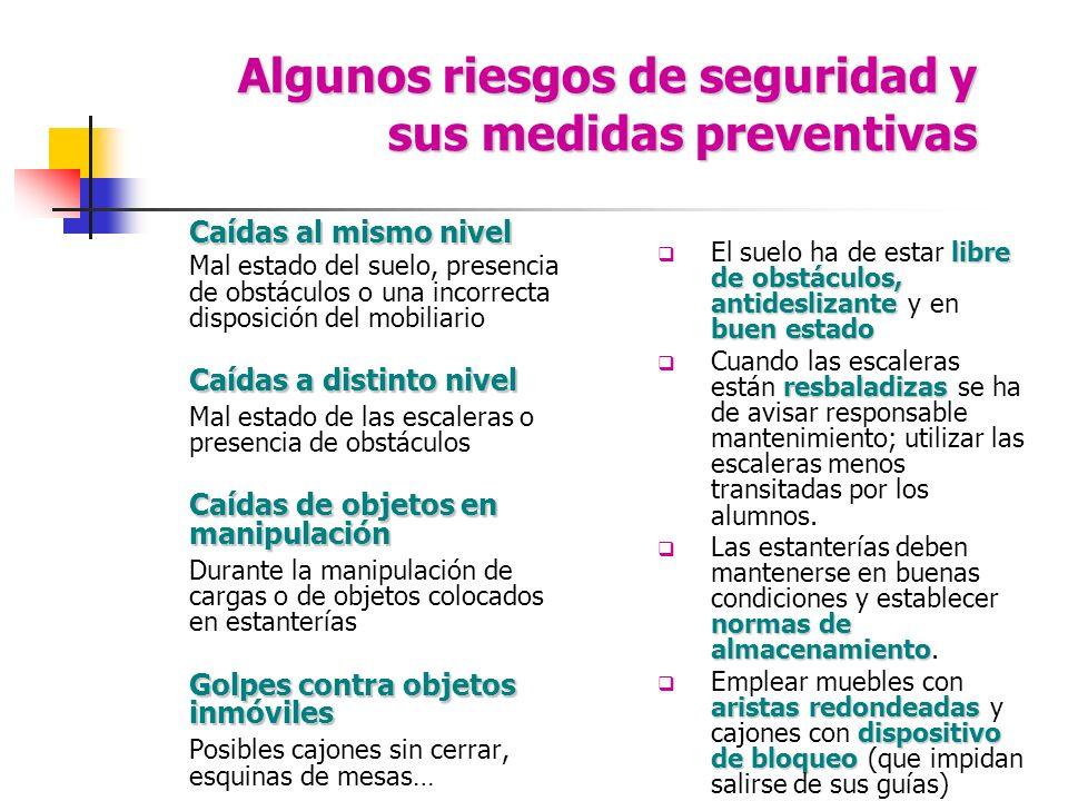 Algunos riesgos de seguridad y sus medidas preventivas