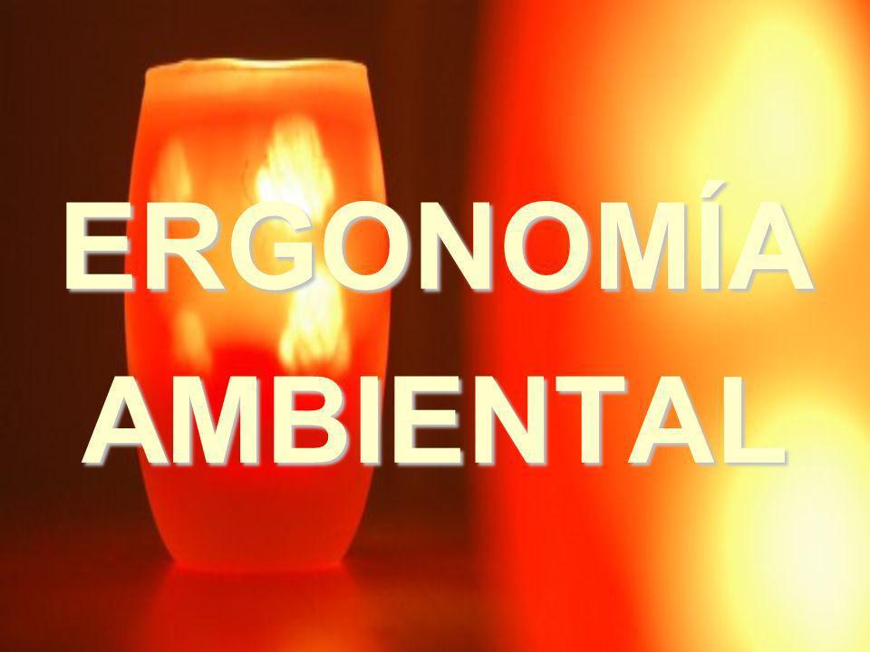 ERGONOMÍA AMBIENTAL